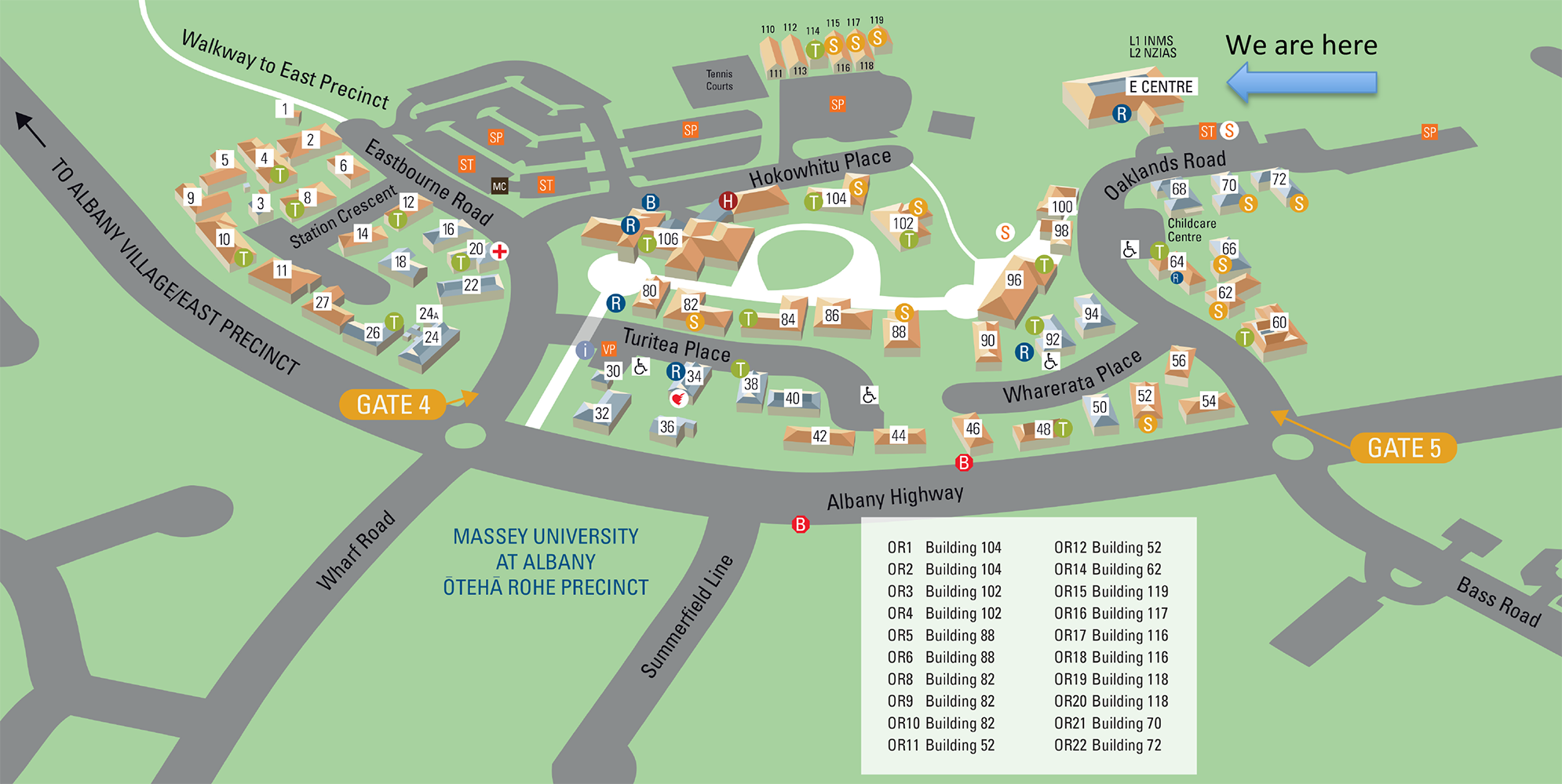 CTCP Campus Map