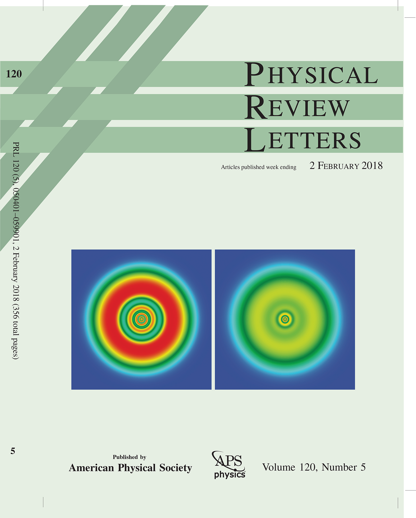 PhysRevLett Cover